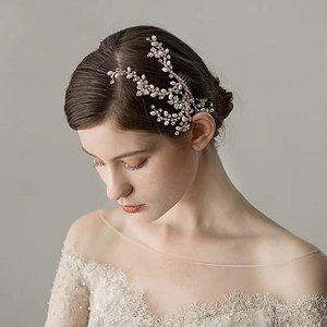Bride Boho Romantic hair comb